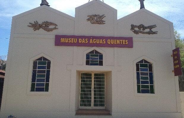 Museu das Águas Quentes Caldas Novas Le Jardin